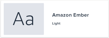 Amazon Ember Light